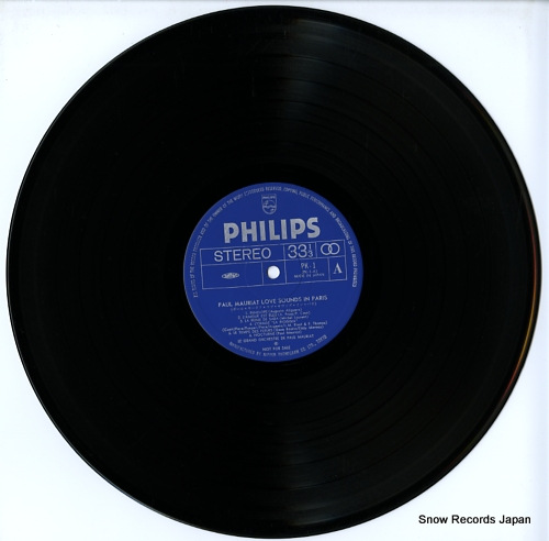 MAURIAT, PAUL love sounds in paris PK-1 - disc
