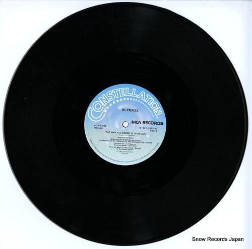 KLYMAXX the men all pause MCA-23526 - disc