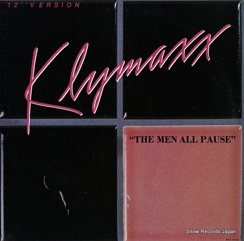 KLYMAXX the men all pause MCA-23526 - front cover