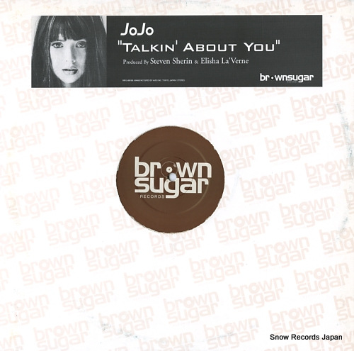 JOJO talkin' about you RR12-88188 - front cover
