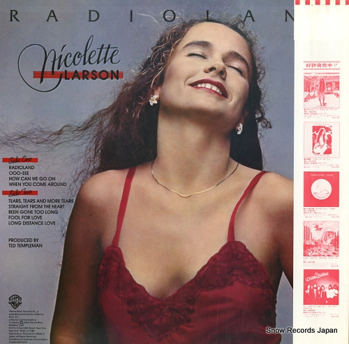 ニコレット・ラーソン ラジオランド P-10959W