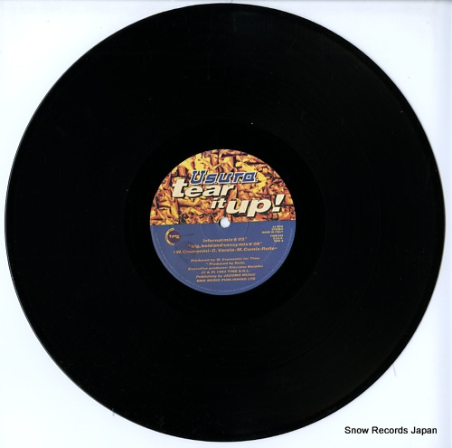 U.S.U.R.A. tear it up! TIME025 - disc