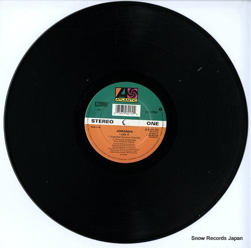 JOMANDA i like it A8377T/7567-96017-0 - disc