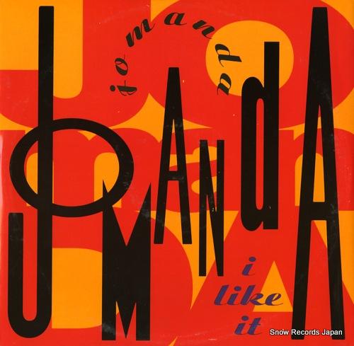 JOMANDA i like it A8377T/7567-96017-0 - front cover
