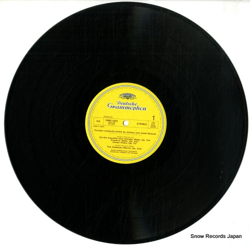 KARAJAN, HERBERT VON on the beautiful blue danube 20MG0305 - disc