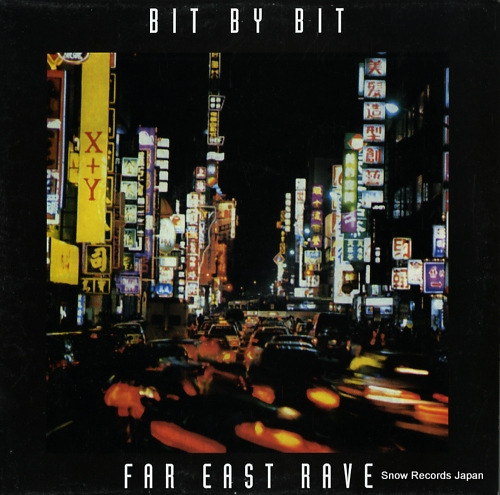 BIT BY BIT far east rave INT018 - front cover
