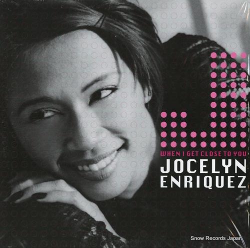 ENRIQUEZ, JOCELYN when i get close to you TB2090 - front cover