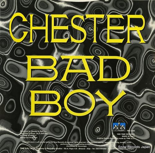 CHESTER bad boy TRD1438 - back cover