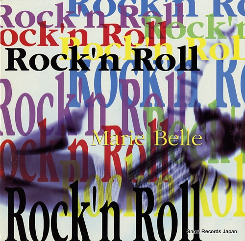 BELLE, MARIE rock'n roll TRD1474 - front cover