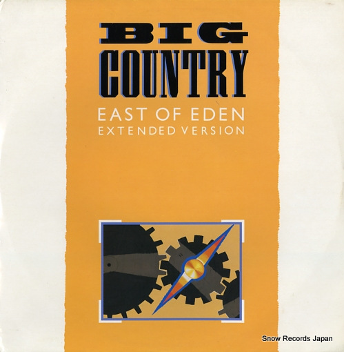 BIG COUNTRY east of eden MERX175 - front cover