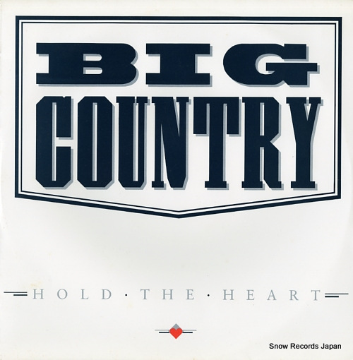 BIG COUNTRY hold the heart BIGCX4 - front cover