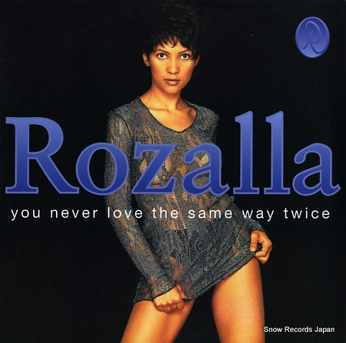 ROZALLA you never love the same way twice 4977917 - front cover