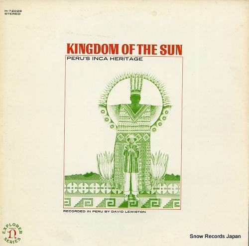 デイヴィッド・ルイストン kingdom of the sun(peru's inca heritage) H-72029