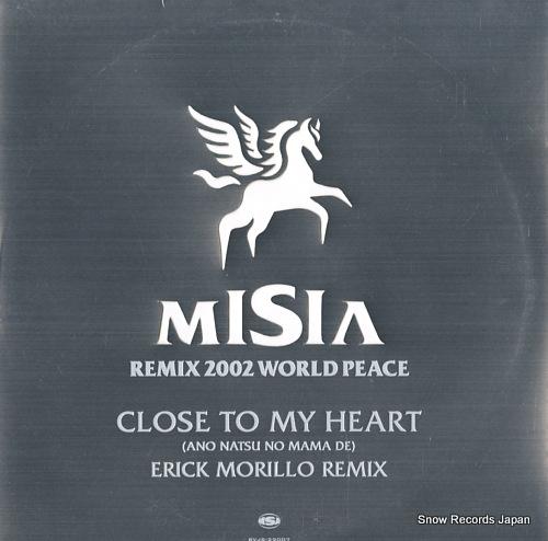 MISIA close to my heart (ano natsu no mama de) (erick morillo remix) BVJS-29007 - front cover