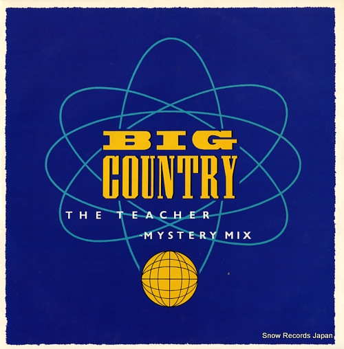BIG COUNTRY the teacher (mystery mix) BIGCX2 - front cover