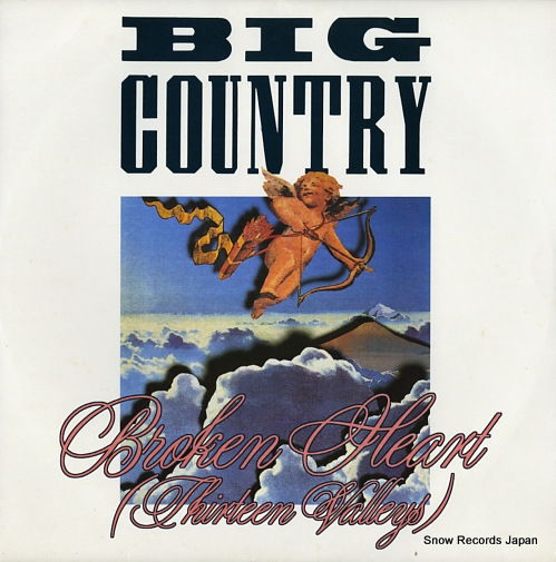 BIG COUNTRY broken heart (thirteen valleys) BIGC612 - front cover