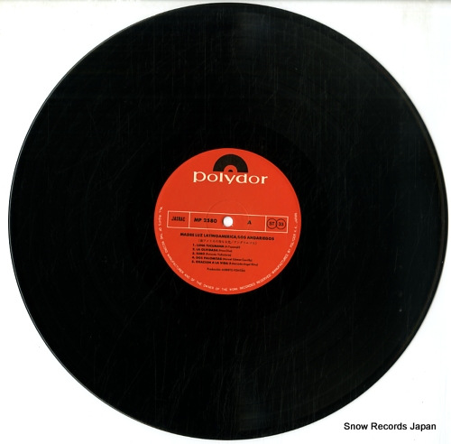 LOS ANDARIEGOS madre luz latinoamerica MP2580 - disc