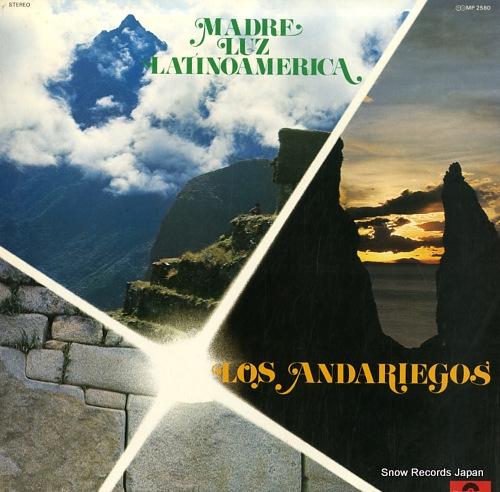 LOS ANDARIEGOS madre luz latinoamerica MP2580 - front cover