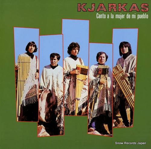 KJARKAS canto a la mujer de mi pueblo 25MM0387 - front cover