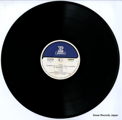 LANCELOT, JACQUES mozart; concerto en la majeur pour OS-2749-RE - disc