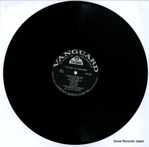 BAEZ, JOAN the best of joan baez SH130 - disc