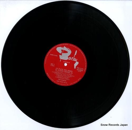 LOS CHACOS la flauta andina 2 GT-5020 - disc