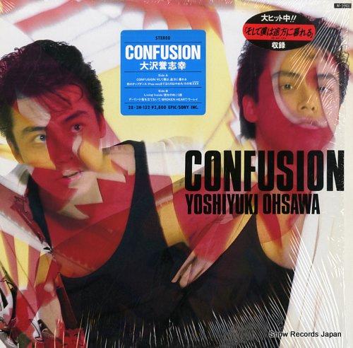 OHSAWA, YOSHIYUKI confusion 28.3H-132 - front cover