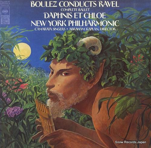 BOULEZ, PIERRE ravel; daphnis et chloe SOCO150 - front cover