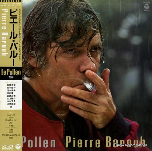 BAROUH, PIERRE le pollen YF-7056 - front cover