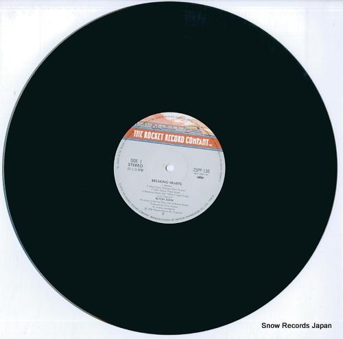JOHN, ELTON breaking hearts 25PP-130 - disc