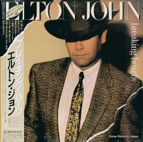 john elton breaking hearts