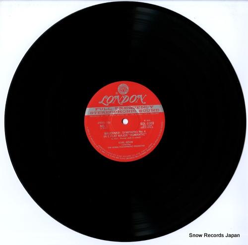 BOHM, KARL bruckner; symphony no.4 romantic SOL1003-4 - disc