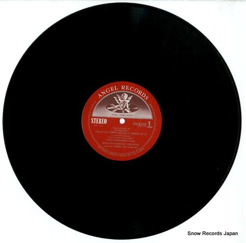 WEISSENBERG, ALEXIS rachmaninoff; piano concerto no.2 EAC-81006 - disc