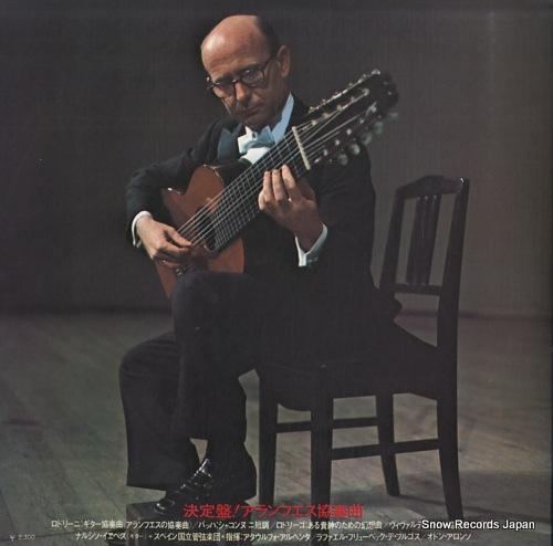 YEPES, NARCISO rodorigo; concierto de aranjuez SLA1016 - back cover