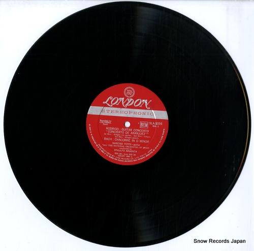 YEPES, NARCISO rodorigo; concierto de aranjuez SLA1016 - disc