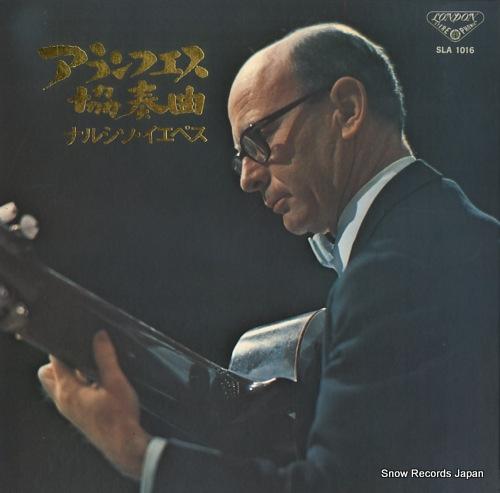 YEPES, NARCISO rodorigo; concierto de aranjuez SLA1016 - front cover