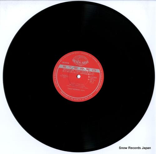 BERMAN, LAZAR beethoven; sonata no.23 in f minor appassionata SLA1093 - disc