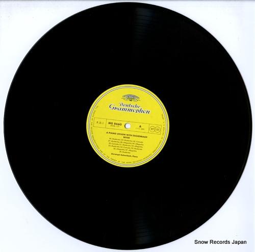 ESCHENBACH, CHRISTOPH a piano lesson eschenbach beyer MG8660/1 - disc
