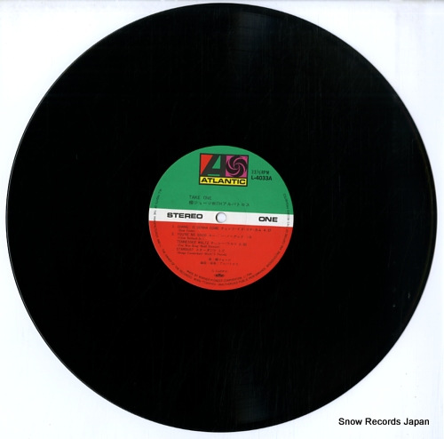 YANAGI, GEORGE take one L-4033A - disc