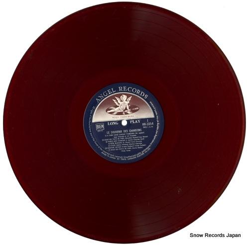 V/A le souvenir des chansons HV1054 - disc