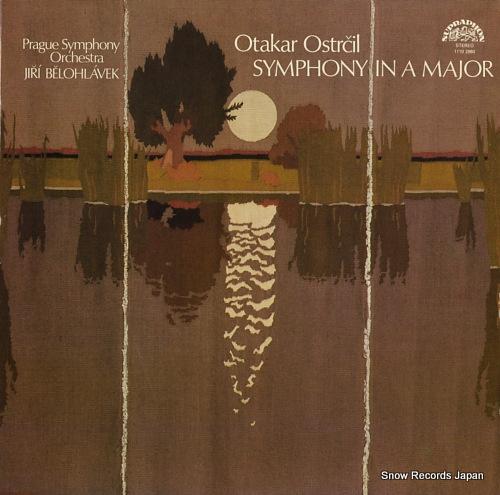 BELOHLAVEK, JIRI otakar ostrcil; symphony in a major 11102960 - front cover