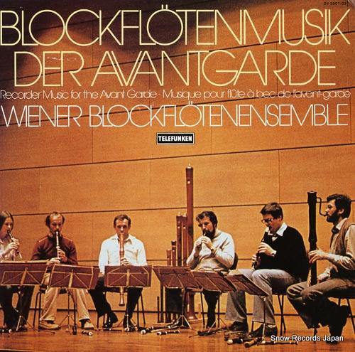 WIENER BLOCKFLOTENENSEMBLE blockfloten der avantgarde DY5801-03 - front cover