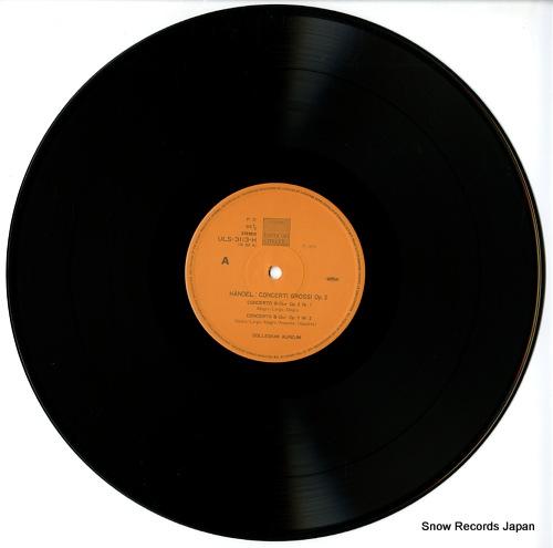 COLLEGIUM AUREUM handel; concerti grossi op.3 ULS-3113-4-H - disc