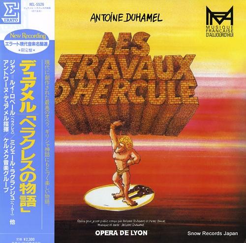 DUHAMEL, ANTOINE duhamel; les travaux d'hercule REL-5526 - front cover