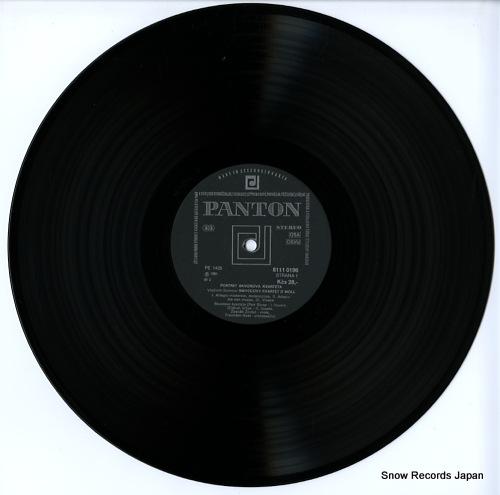 SKVOR QUARTET / SKVOROVO KVARTETO vladimir sommer; string quartet in d minor 81110196 - disc