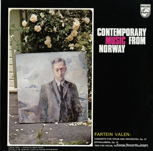 ANDERSEN, KARSTEN contemporary music from norway 6507039 - front cover