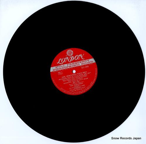 MUNCHINGER, KARL munchinger plays bach SLC1561 - disc