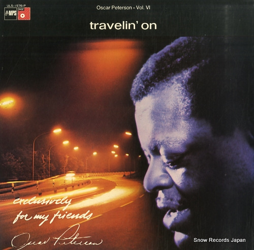 PETERSON, OSCAR travelin'on ULS-1576-P - front cover