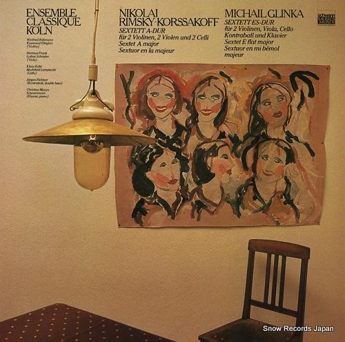 ENSEMBLE CLASSIQUE KOLN nikolai rimsky-korssakoff; sextett a-dur VMS1030 - front cover