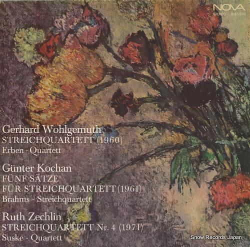 V/A gerhard wohlgemuth; streichquartett(1960) 885033 - front cover